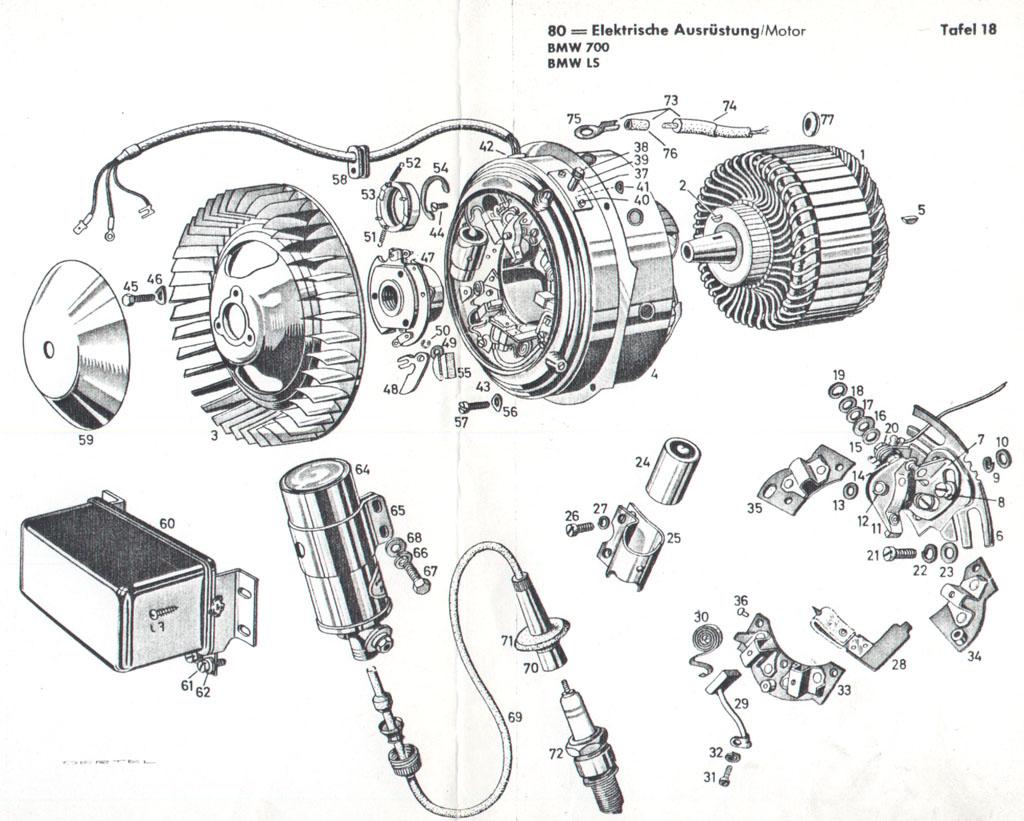 Isetta Philipp Schäper - BMW 700 - Elektrik