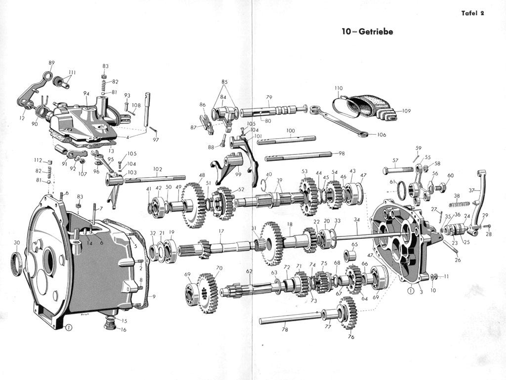Isetta Online De Explosionszeichnung Isetta Standard